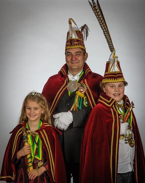 Jeugdprinses Danique, Prins Gerard d'n Twidde, Jeugdprins Matthijs d'n Twidde