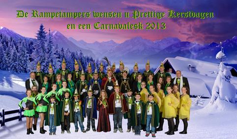 Prettige Kerstdagen en een Carnavalesk 2012
