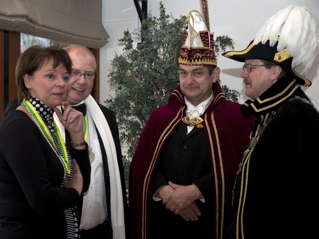 Burgemeester ontmoet Burgemeester