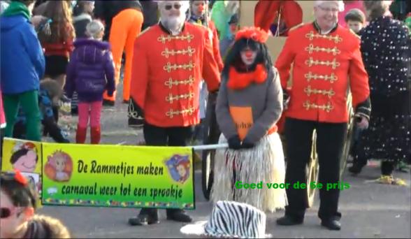 Rammetjes maken carnaval tot een sprookje.Klik op de foto voor een filmimpressie