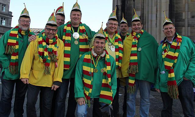 Delegatie Rampetampers in Keulen
