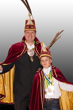 Prins Ruurd Jan d'n Urste en Jeugdprins Werner d'n Urste