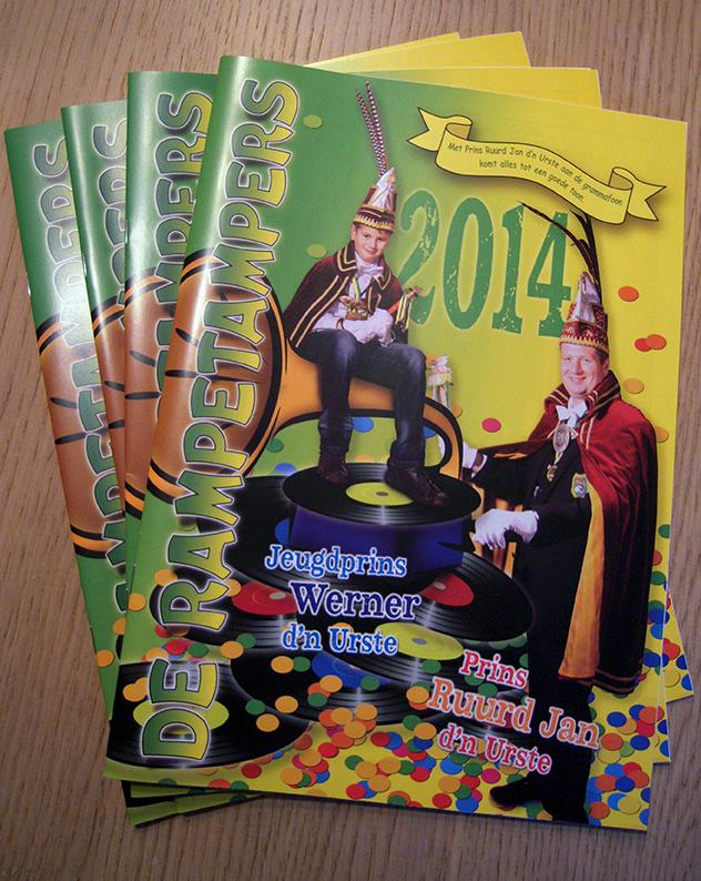 Het BLOAIKE 2014 weer gratis in Dierdonk verspreid.