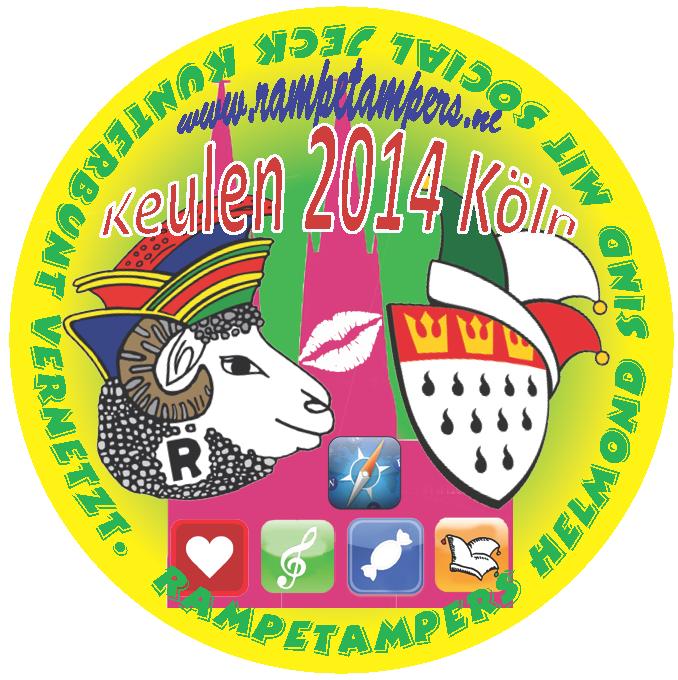 11-11-2014 delegatie van de Rampetampers in Keulen