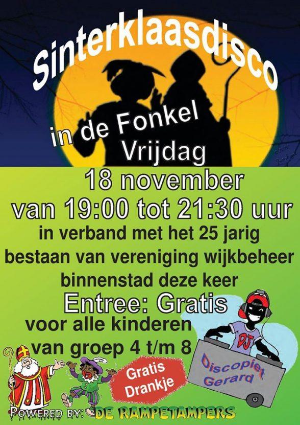 Poster kinderdisco november