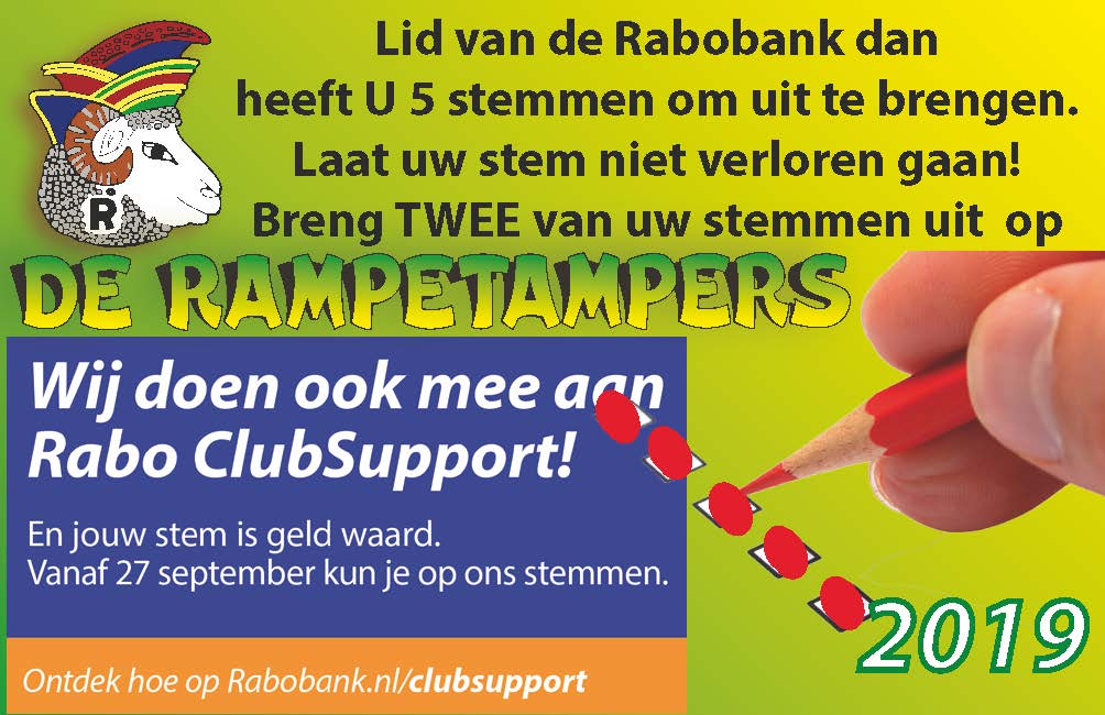 Rabo Clubsupport actie